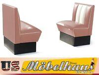 HW-70-D American Dinerbank Sitzbank Diner Bänke Möbel 50´s USA Style Gastronomie