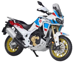 Bburago 1:18 Honda Africa Twin Adventure MOTORCYCLE BIKE DIECAST MODEL IN BOX