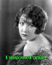 YOLA D'AVRIL 8X10 Lab Photo 1920s Sorrowful Elegance, Silent Era Portrait