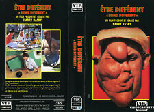 VHS-ETRE DIFFERENT - TRES RARE-VIP VIDEO CLUB-HARRY RASKY-1983-