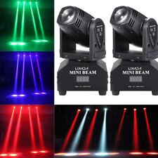 2X Lixada 50W RGBW LED Spot Bühnenlicht Moving Head Bühnenbeleuchtung DJ Disco