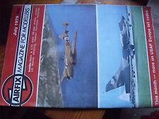 $$ Revue Airflix magazine July 1979 SS-type airship  US marine  Hawker Hurricane