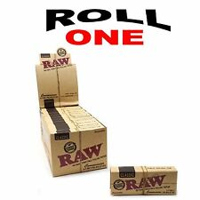 RAW CLASSIC HEMP 1 1/4 ROLLING PAPERS + FILTER TIPS NATURAL HEMP GUM 24 PACKS