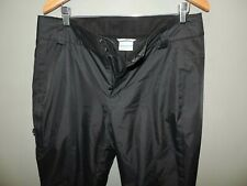 Mens Columbia Omni Tech Navy Blue Heavy Duty Ski Snowboard Pants SZ L Quick Ship