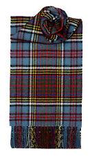 Lochcarron de Escocia 100% Lambswool Anderson Tartan Bufanda Hecho En Escocia