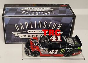Kurt Busch 2016 Lionel #41 Monster Energy Darlington Throwback 1/24 FREE SHIP
