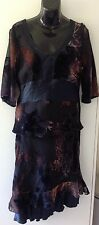 LADIES SIZE 12 GORGEOUS 2 PIECE TOP & SKIRT MOTHER OF THE BRIDE SET-David House