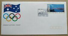 1993 Australia Congratulations Sydney Olympic FDC (Postage Prepaid Envelope)