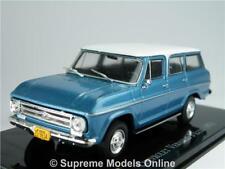CHEVROLET GMC SUBURBAN MODEL CAR 1:43 SCALE 1971 VERANEIO IXO ATLAS AMERICAN K8