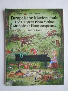 Klavierschule - Fritz Emonts - Europäische Klavierschule - Band 2 - SCHOTT 7932
