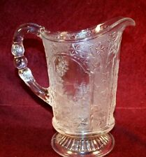 RARE EAPG Water Pitcher - CANADIAN Pattern - Unknown Maker - ca. 1883