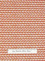 Moda Halloween Fabric - Pumpkin Party Deb Strain Candy Corn Stripe White /Yd