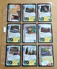 THE X-FILES PREMIERE EDITION CCG/TCG SLEEVE OF 9 x COMMON CARDS  NEW/1996  (F)