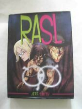 Signed & #'d! Jeff Smith Rasl Hcdj Tesla Ed Graphic Novel Color Art Bone Creator