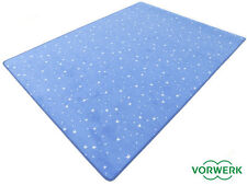 Bijou Stars blau Kettel Teppich 200x300 Cm Vorwerk Sonderedition