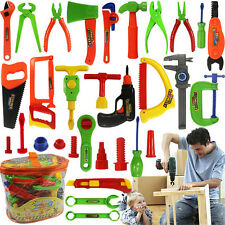 32 Pcs Plastic Simulation Repair Tool Kit For Boys Kid Children Toy Set Funny GT