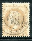 Timbre de France classique, Napoléon n° 28 Oblitération cachet à date Algérie