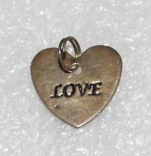 Valentines Day Anniversary Mothers Love Engraved Silver Pendant Necklace