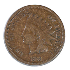 1873 Indian Cent Fine