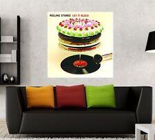 The Rolling Stones Let it Bleed 24x24 Album Artwork Fathead Poster