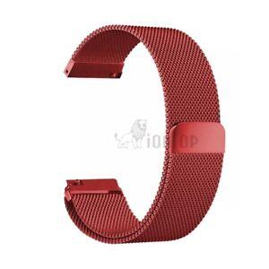 Milanese Loop Stainless Steel Bracelet Magnetic 18mm 20mm 22 mm Wrist Watch Band
