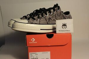 Converse Chuck Taylor 70 Low Snakeskin Mens 9.5