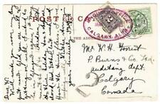 Canada POSTAGE DUE-SG#D3-ENQUIRY OFFICE CALGARY ALTA. MAY/8/1911