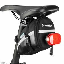 Bike Saddle Bag Cycling Seat Pouch 1.2L Waterproof Bicycle Tail Rear Equipment