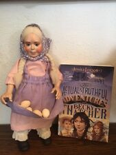 "Storybook Nursery Rhyme doll ""Becky Thatcher"" + ""Adventures of Becky Thatcher"""