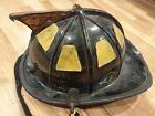 Black Traditional Fire Fighter Helmet  Cairns  k