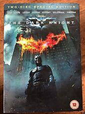 Christian Bale Heath Ledger IL CAVALIERE OSCURO Batman 2-disco UK DVD con/
