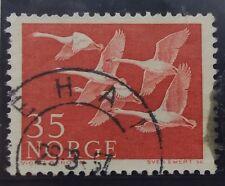 Timbre Stamp Norvège Norge Norway 1956 YT 371 Oblitéré