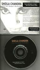 SHEILA CHANDRA This Sentence is true RARE ADVNCE PROMO DJ CD 2001 MINT USA
