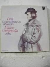 6998 015 LISZT Hungarian Rhapsodies CAMPANELLA Piano PHILIPS STEREO 4LP BOXSET