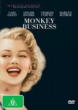 Monkey Business (DVD, 2006) - from the Marilyn Monroe Diamond Collection - PAL