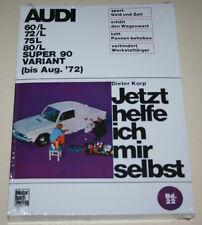 Reparaturanleitung Audi F103 60 / 72 / 75 / 80 / Super 90 / Variant, 1965 - 1972