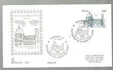 ITALIA BUSTA Capitolium 1996  CATTEDRALE DI S. MARIA DEL FIORE 1996  FIRENZE FDC