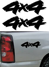 2 - 4x4 Decals / Stickers - Universal 4x4 Vinyl Decal - Chevy Truck Accessories