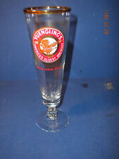 YUENGLING BEER 159th ANNIVERSARY STEMMED PILSNER GLASS