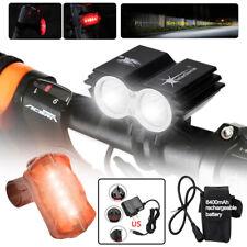 T6 LED USB 3 Modi Fahrrad Beleuchtung Set beleuchtung Licht Fahrrad Rücklicht