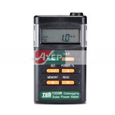 TES-1333R Solar Power Meter Radiation Detector Solar Cell Energy Tester/Software