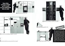 Publicité Advertising 038  1988   Cinna  (2p)  meubles par Peter Maly