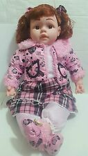 Real looking interactif rire cry baby doll filles enfants jouets anniversaire cadeau