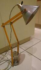 LAMPE METRE CHARPENTIER PLOMBIER BOIS DESIGN LOFT FRENCH ARTISANAL ART DECO