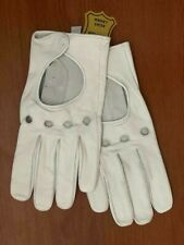 Men's Genuine Leather Unlined Driving Fashion Dress Gloves