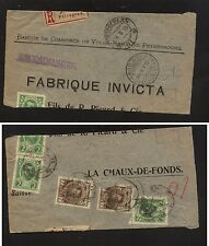 Russia  home made wrapper registered to Switzerland            KL0806