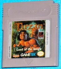 Tarzan Lord of the Jungle - Game Boy GB Nintendo - PAL