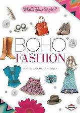 Boho Fashion (What's Your Style?)-ExLibrary