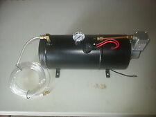12V AIR COMPRESSOR WITH TANK HEAVY DUTY IDEAL FOR ON BOARD AIR HORNS 3L