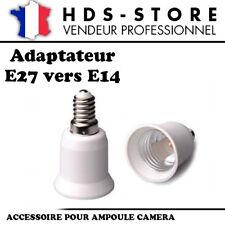 E27E14 PROLONGATEUR ADAPTATEUR E27 VERS E14 POUR AMPOULES CAMERAS OU STANDARDS